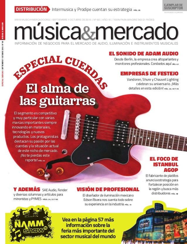Música & Mercado #60 en español Spanish