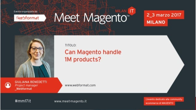 About me • Project Manager @ Webformat • Magento and TYPO3 projects • Requirements analysis • Planning of development and ...