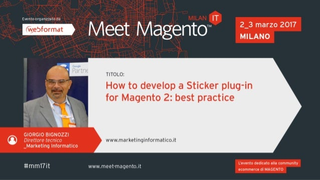 Developing a Sticker plug-in Sticker plug-in for Magento 2 Best practice