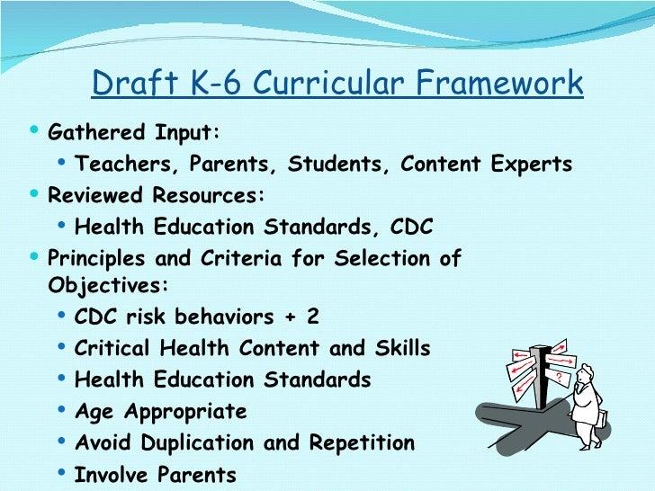 Draft K-6 Curricular Framework <ul><li>Gathered Input: </li></ul><ul><ul><li>Teachers, Parents, Students, Content Experts ...