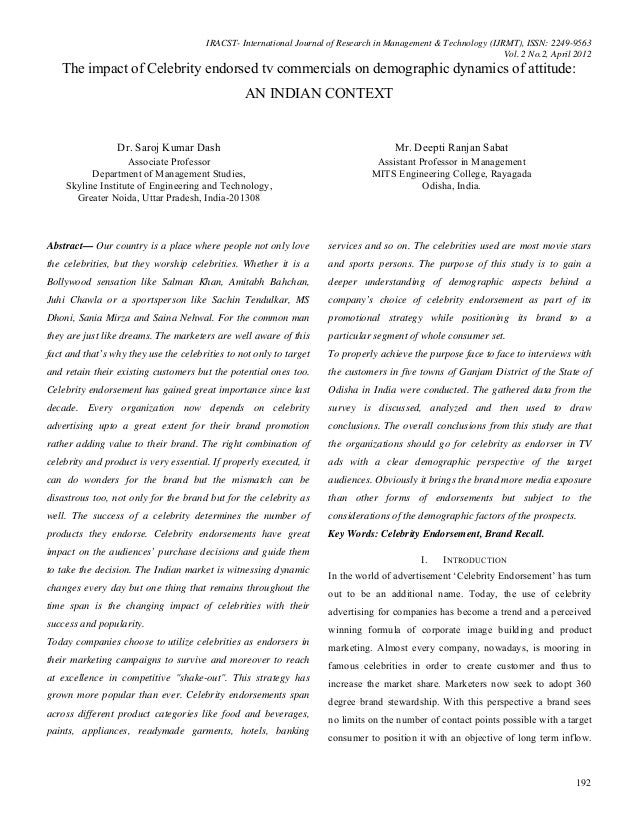 IRACST- International Journal of Research in Management & Technology (IJRMT), ISSN: 2249-9563                             ...