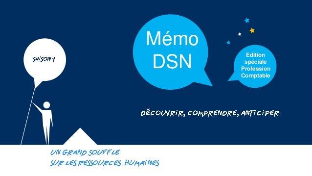 Mémo DSN  Edition spéciale Profession Comptable