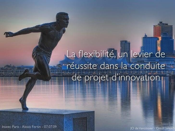 La flexibilité, un levier de                                           réussite dans la conduite                           ...