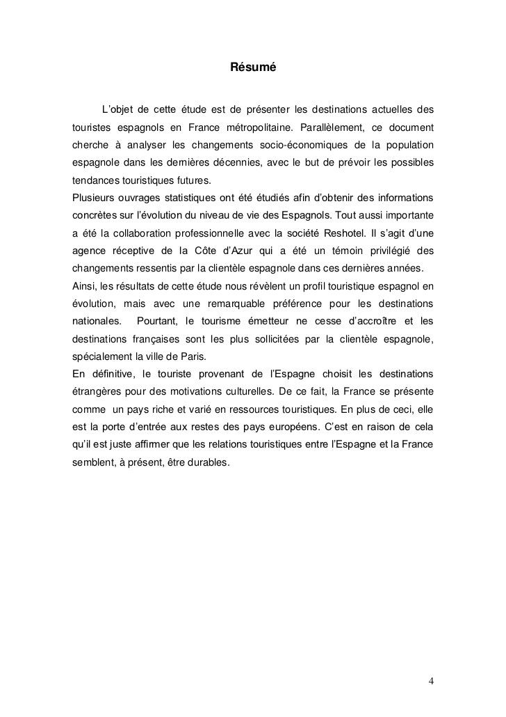 Assez Destination touristique des espagnols en France 2006 - 2007 IR06