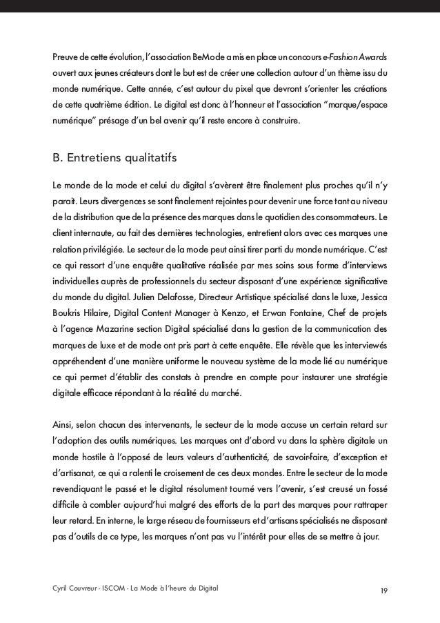 La Mode à l heure du Digital - Cyril Couvreur d9b78fcaffb5