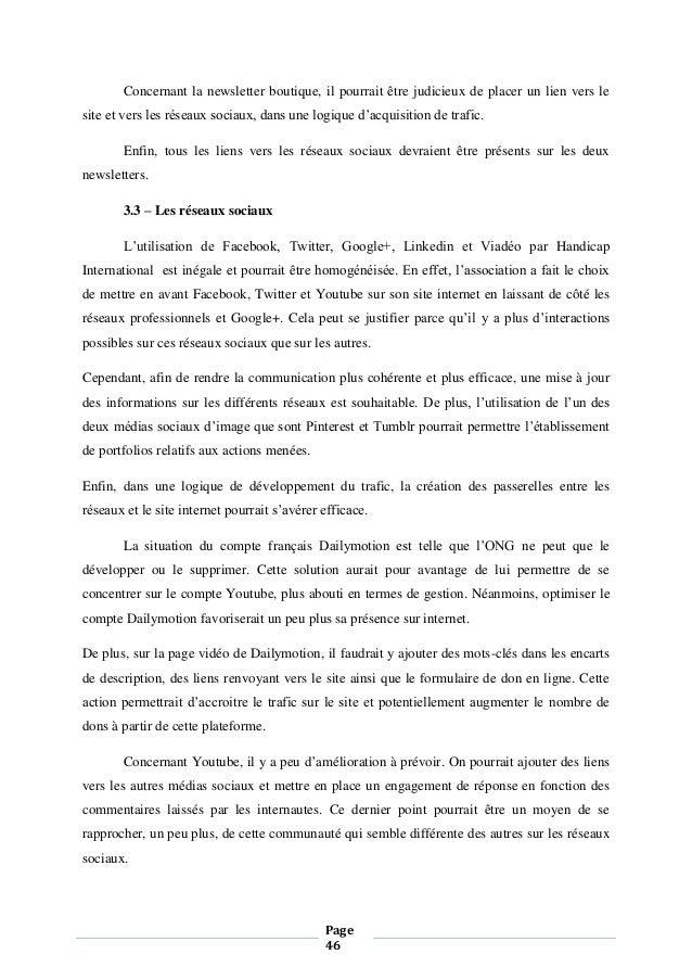 Mémoire   Etude des usages d internet par les ONG c41818d812d3