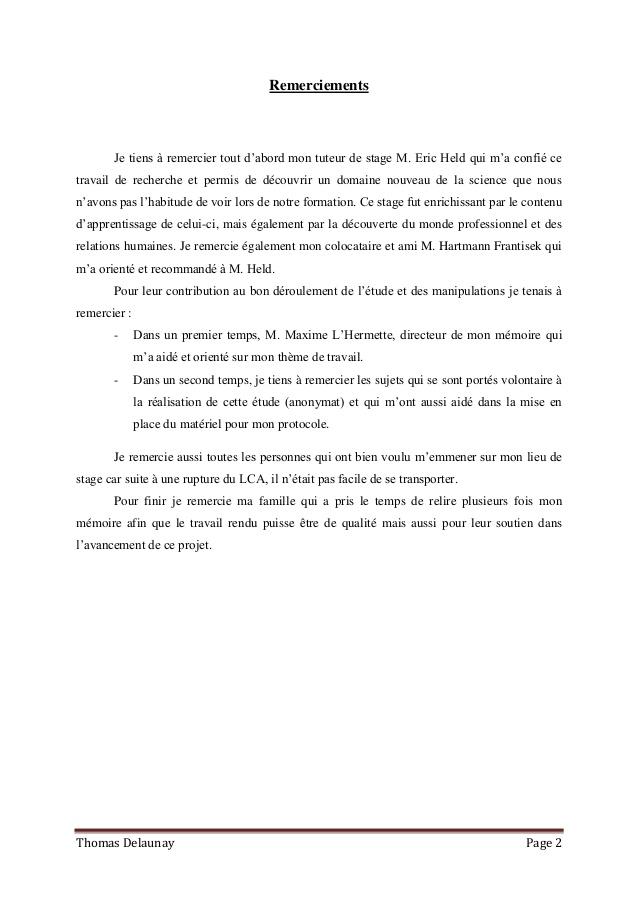 Célèbre Memoire STAPS Master 1 Thomas Delaunay OI38