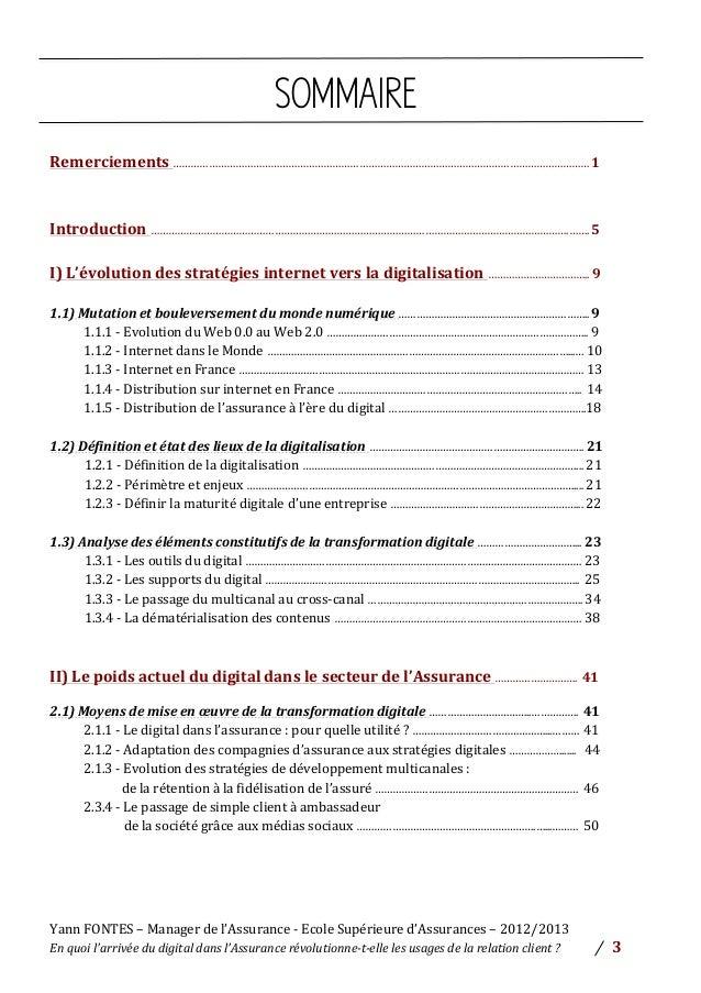 ETUDE - Le Digital dans l'Assurance Slide 3