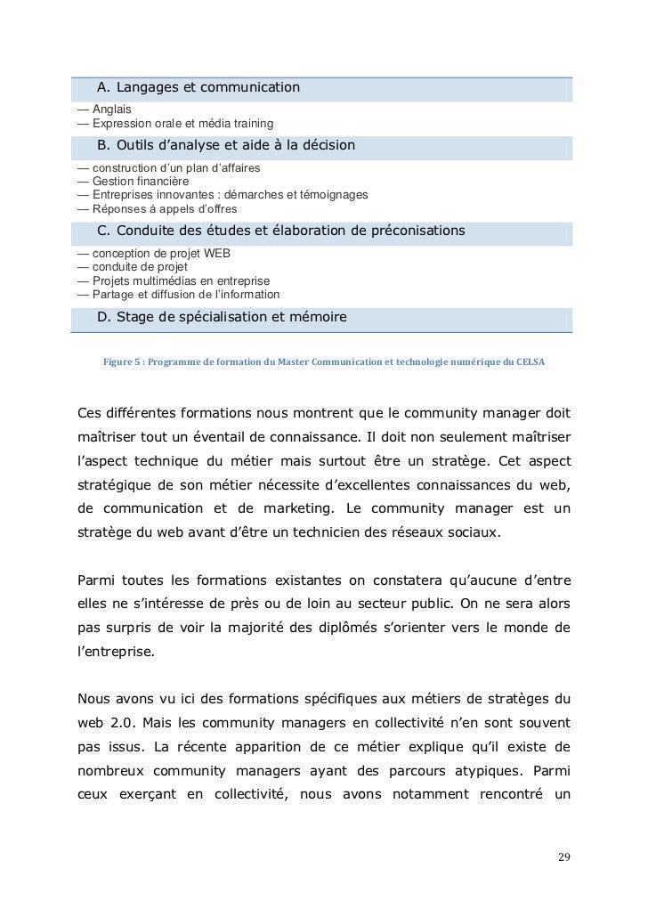 Community management et collectivités territoriales ...