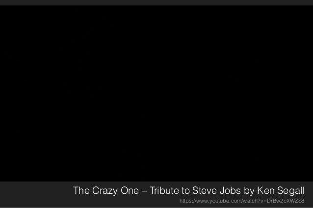 Steve Jobs' Sicht auf das Leben und die Welt https://www.youtube.com/watch?v=UvEiSa6_EPA