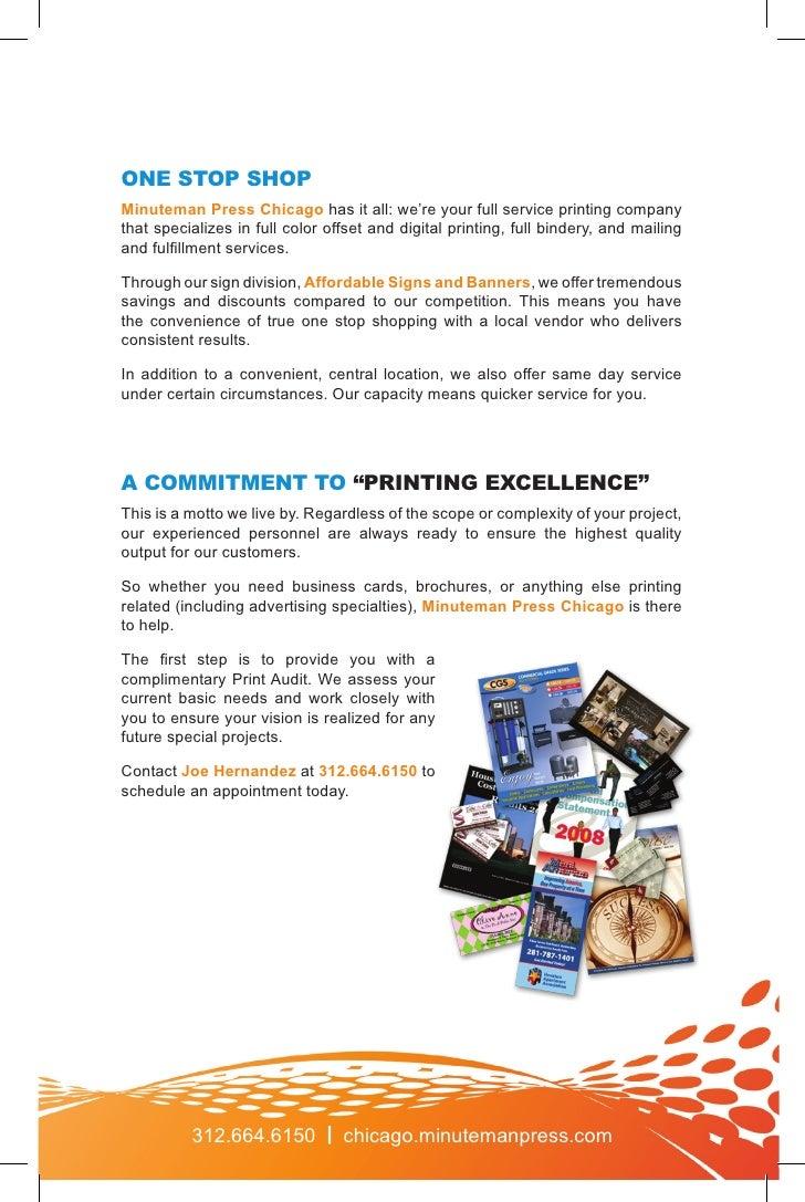 Minuteman Press Chicago