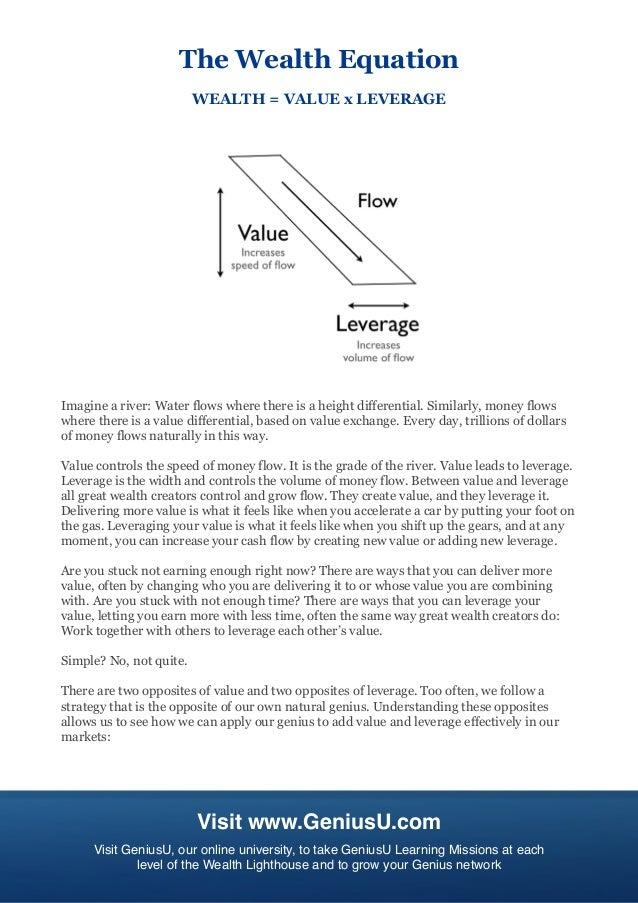Millionaire master plan sample genius report 15 malvernweather Gallery