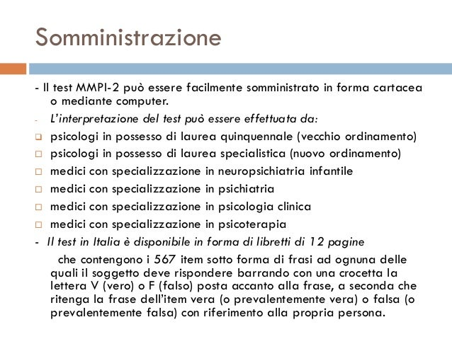 questionario mmpi 2