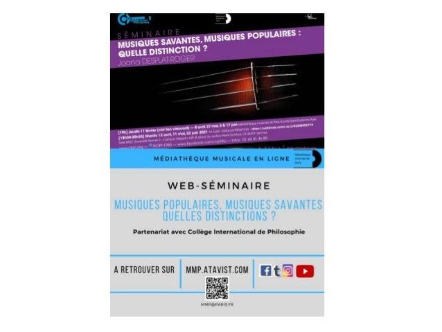 La médiation à la Médiathèque Musicale de Paris