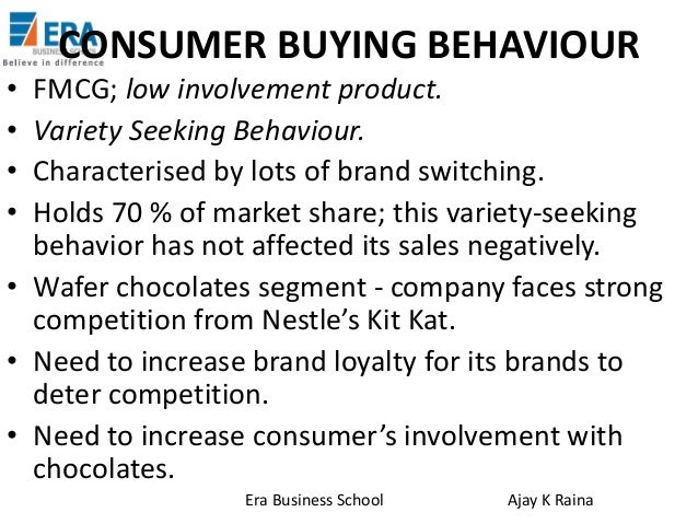 buying behavior of consumer for bournvita Consumer purchase behavior analysis of cadbury bournvita and 5 star (2012- 13)submitted by: group no 11 • abhishek jain (ft13301.