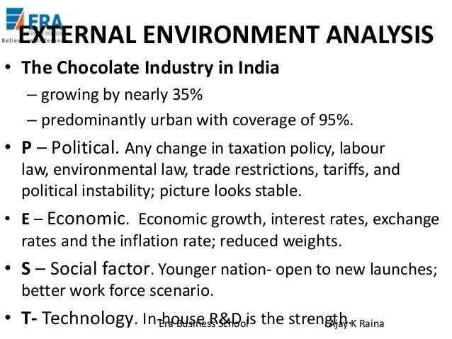 cadbury environmental factors