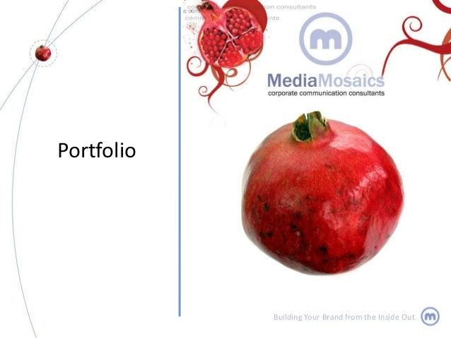 Portfolio            Building Your Brand from the Inside Out
