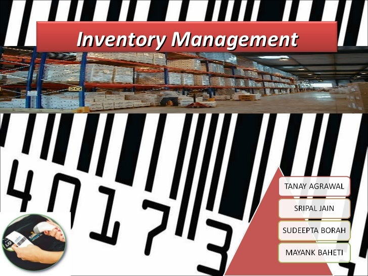 inventory management ppt