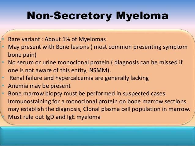 NONSECRETORY MULTIPLE MYELOMA EBOOK