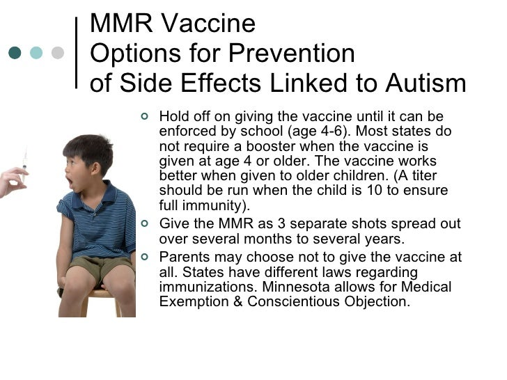 mmr vaccine and autism information cycle Abstract although child vaccination rates remain high, some parental concern persists that vaccines might cause autism three specific hypotheses have been pr.