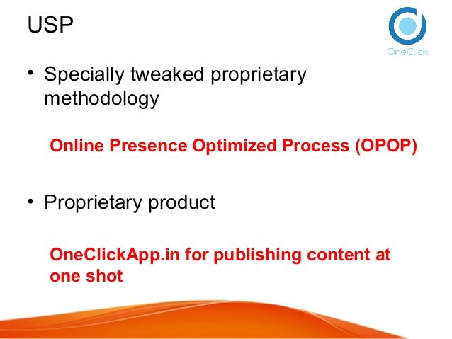 Maayaa Marketing Services - inbound content marketing process and strategy - Online Presence Optimized Process Slide 3