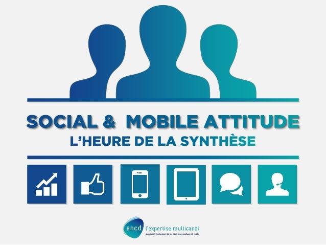 Segmentation des usages sur les réseaux sociaux, croissance continue de la navigation sur mobile, convergence des écrans :...