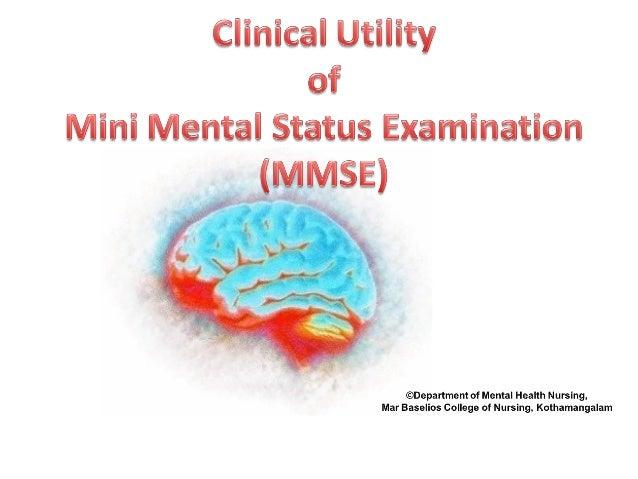 Mini Mental Status Examination