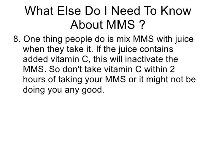 MMS Miracle Mineral Solution Top 10 Questions