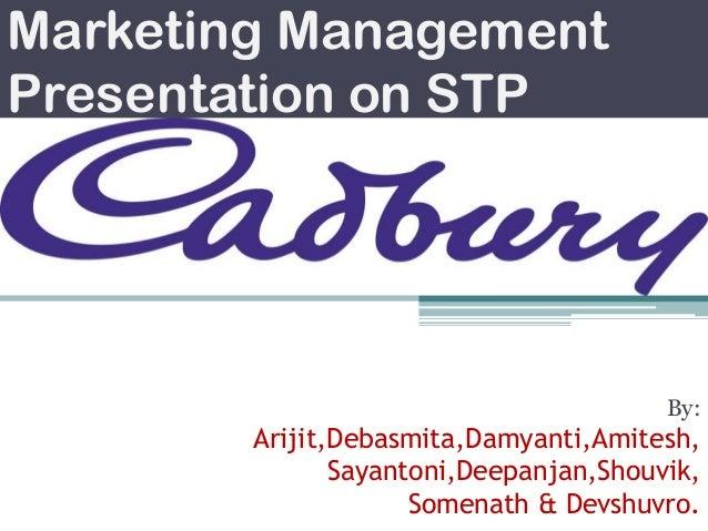 Marketing Management Presentation on STP  By:  Arijit,Debasmita,Damyanti,Amitesh, Sayantoni,Deepanjan,Shouvik, Somenath & ...
