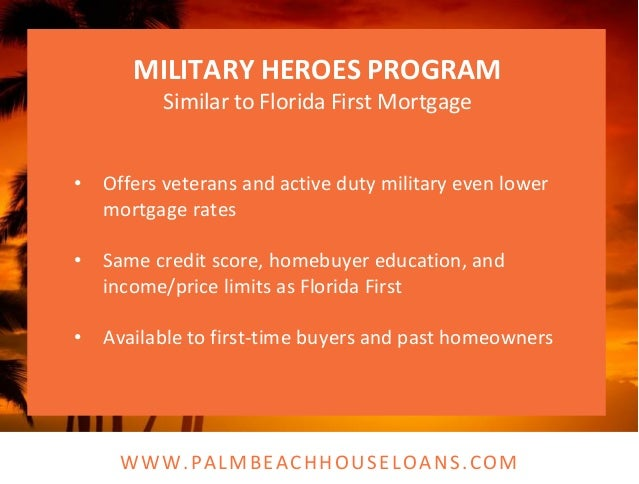 Palm Beach County First Time Homebuyer Program