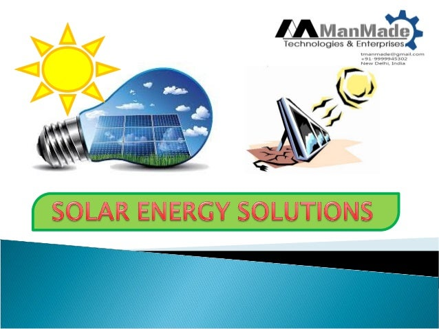 India is bestowed with solar irradiation ranging from 4 to 7 kWh/square metre/day across the country, with western and sou...