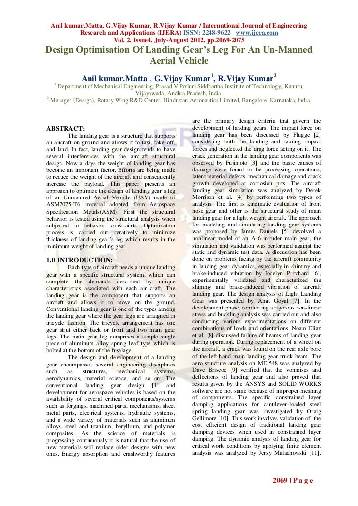 Anil kumar.Matta, G.Vijay Kumar, R.Vijay Kumar / International Journal of Engineering          Research and Applications (...