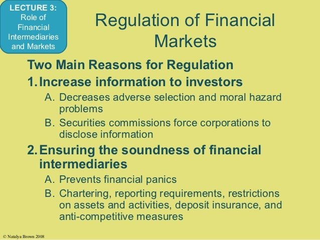 the role of financial intermediaries and He studies the role of different financial shocks and frictions during the financial crisis, which is initiated by losses suffered by financial intermediaries and exacerbated by their inability to extend credit to the real economy.