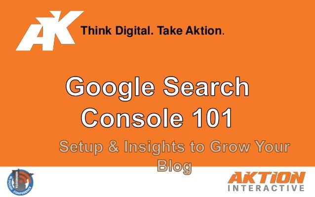 Think Digital. Take Aktion.