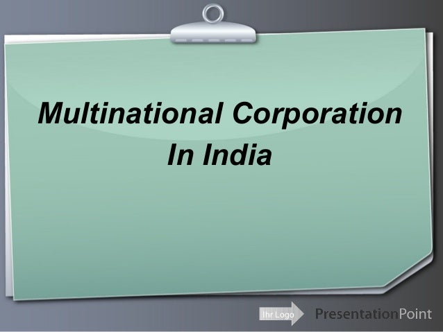 Multinational Corporation In India  Ihr Logo