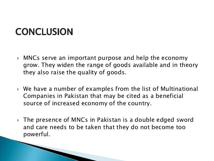multinational corporations mncs essay One of the most important issues states face is the growing power of the multinational corporation multinational corporations essay seeks to show how mncs.