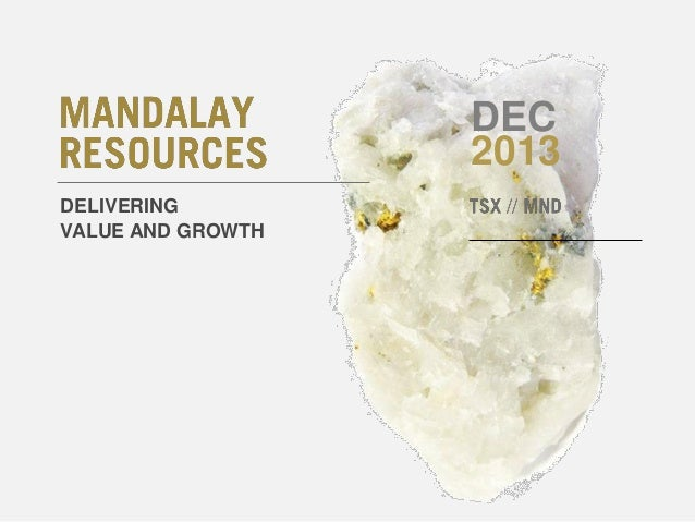 DEC 2013 DELIVERING VALUE AND GROWTH
