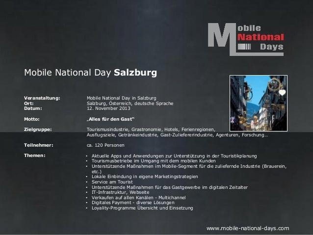 Mobile National Day SalzburgVeranstaltung:   Mobile National Day in SalzburgOrt:             Salzburg, Österreich, deutsch...