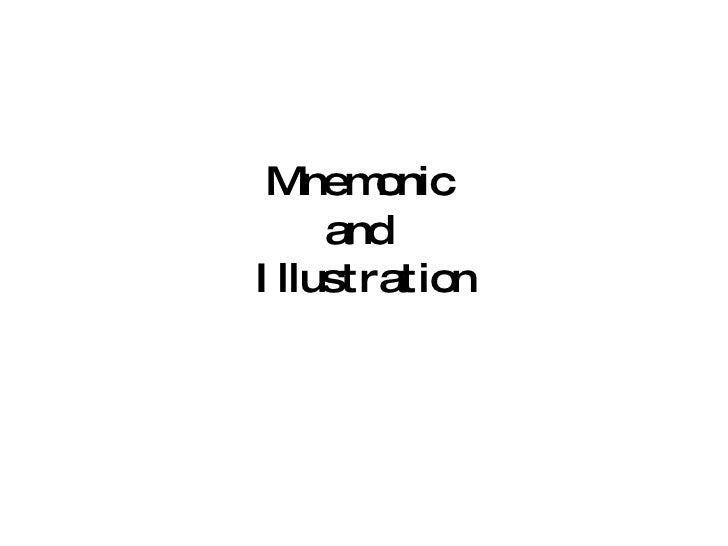 Mnemonic  and  Illustration