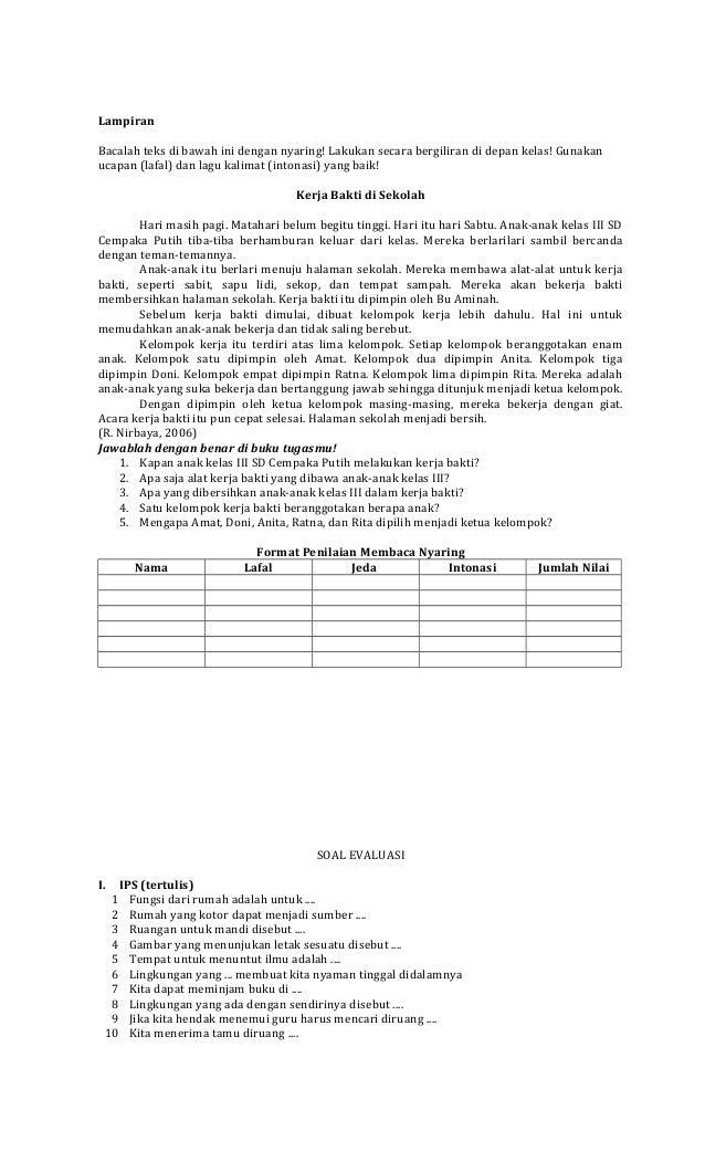 Rpp Sd 14 Raha