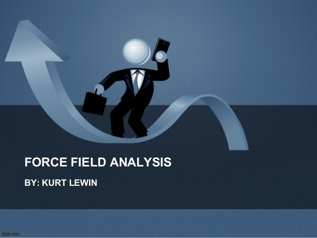 FORCE FIELD ANALYSIS BY: KURT LEWIN