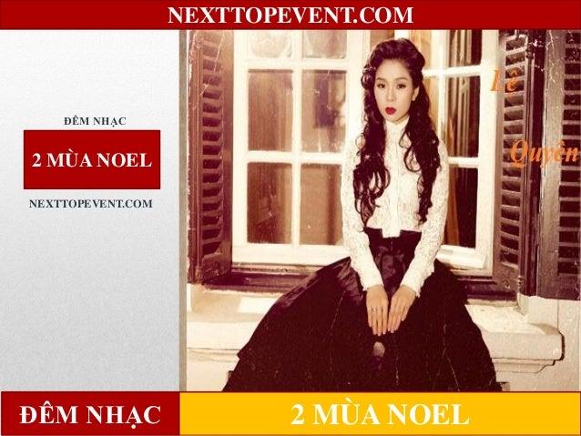 Đêm nhạc 2 mùa noel Slide 2