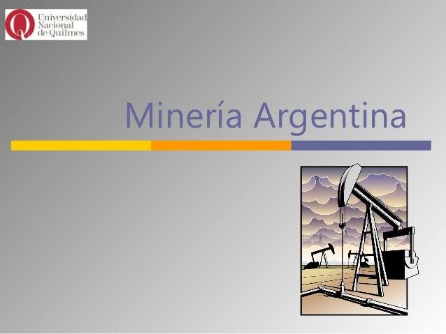 Minería Argentina