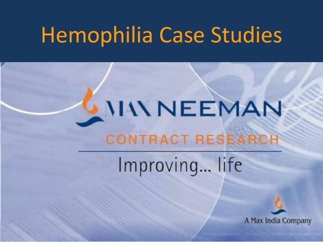 Hemophilia Case Studies