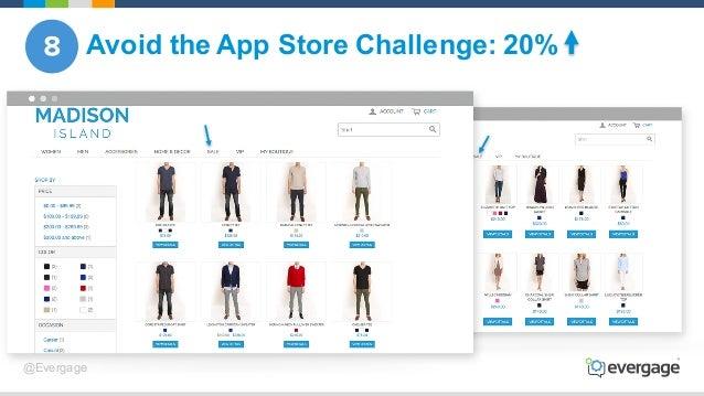 @Evergage Avoid the App Store Challenge: 20%