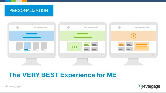 @Evergage The VERY BEST Experience for ME PERSONALIZATION