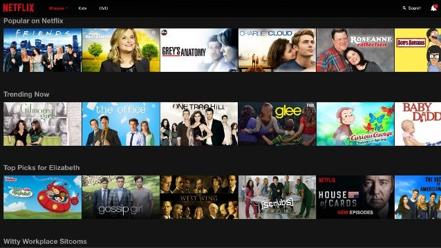 @Evergage We live in a Netflix world