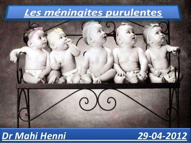 Presentation TitleDr Mahi Henni            Presentation Subtitle   29-04-2012
