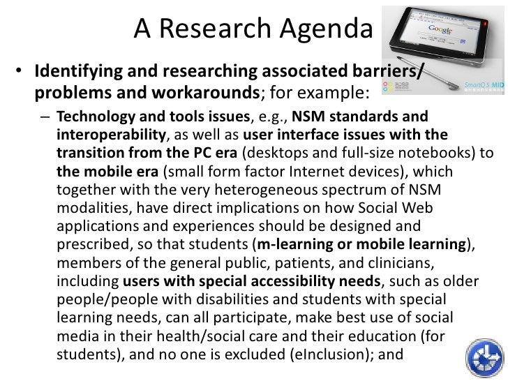 Superior 30. A Research Agenda ...