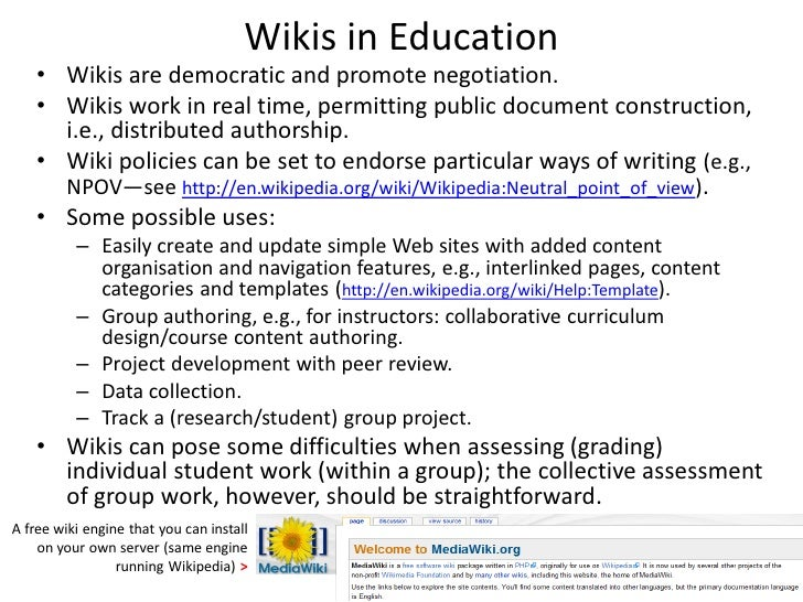 Collaborative Teaching Wikipedia ~ Networked social media in learning teaching and research